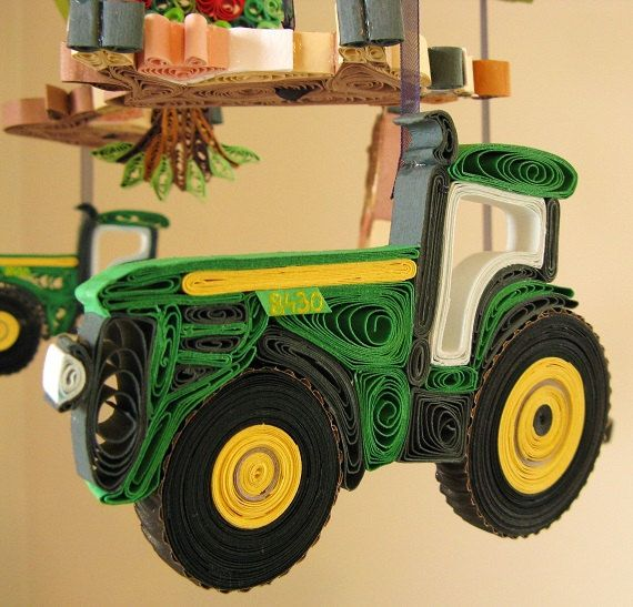 Tractor Mobile For Cribs : Unique boy mobile ideas on pinterest ribbon