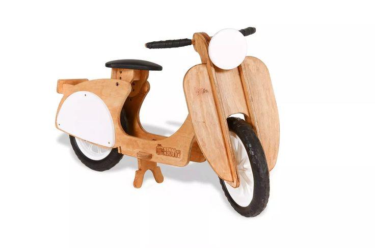 Bicicleta Niño/niña. Vespata Camicleta De Inicio De Madera - $ 1.890,00 en MercadoLibre
