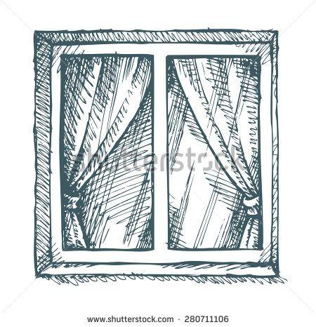 Closed Door Drawing 8 best tegn vinduer images on pinterest | door ideas, rock houses