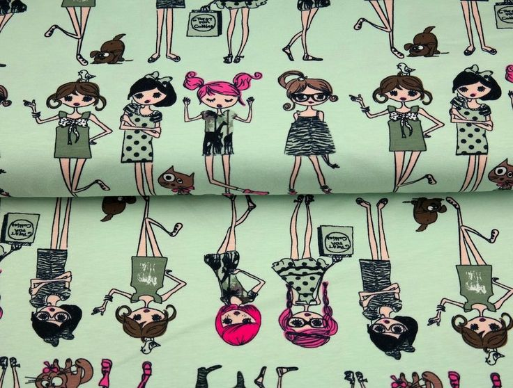 Stenzo17 3009-10 Cotton poplin Fashion girls lichtgroen