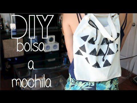 DIY Como hacer una Mochila de cordón | Fashion Riot - YouTube