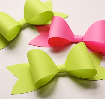 how to make perfect paper bows