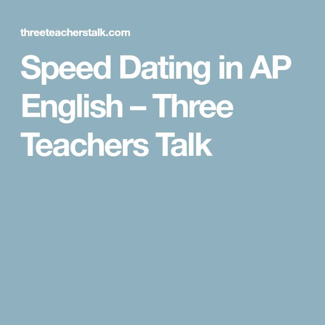 Speed dating questions sorority