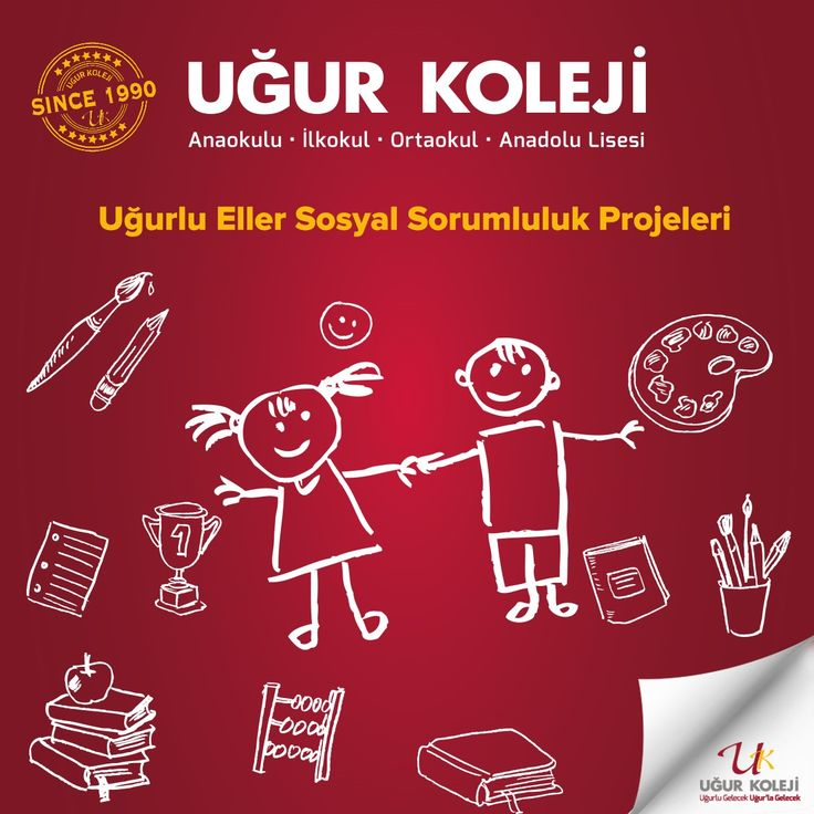 Uğurlu Eller kütüphane kuruyor, Uğurlu Eller hayvan dostlarına ulaşıyor, Uğurlu Eller geri dönüşüm peşinde, Uğurlu Eller huzur evinde, Uğurlu Eller çevreyi koruyor. 'Uğurlu Eller' sosyal sorumluluk projeleri ile öğrencilerimiz yardımlaşma ve sorumluluk alma bilincine ulaşır.  Sosyal sorumluluk projelerimizi incelemek için: http://www.ugurkoleji.com.tr/sosyal-sorumluluk