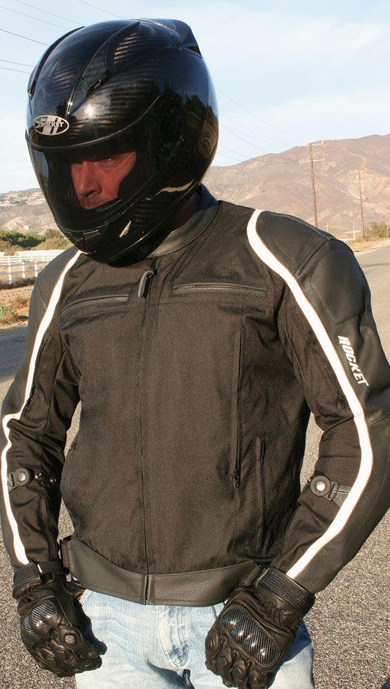Pivot — C.E. Armored, Rocktex® / cowhide hybrid jacket.