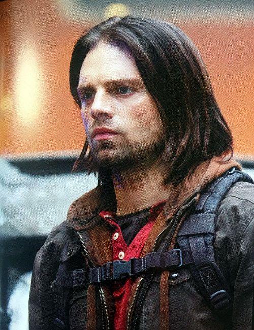 Oh, Bucky. So beautiful. So sad.  Sebastian Stan in Captain America: Civil War