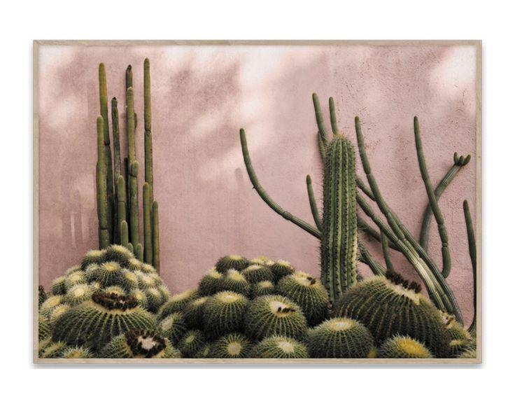 Plakat fra Paper Collective  799,-  https://www.eskeinterior.no/produkt/plakat-plants-on-pink-70x50/