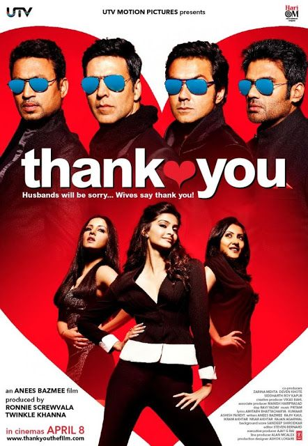 Thank You (2011) Hindi Movie Songs Download   Lazy Moviez