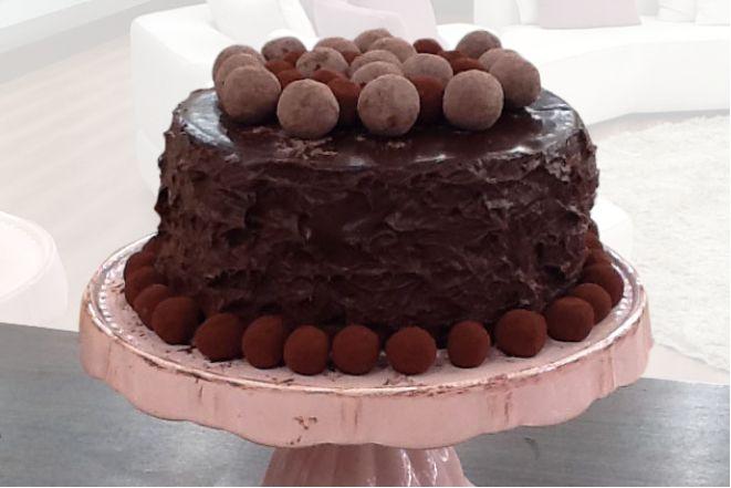 Τούρτα σοκολάτας με κανέλα