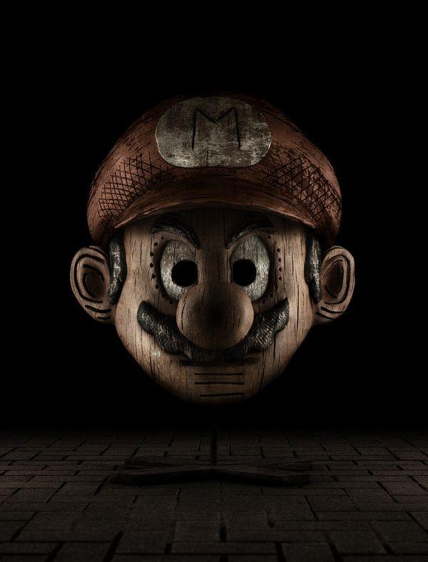 """""""Mario"""" Holly Wood by tony"""