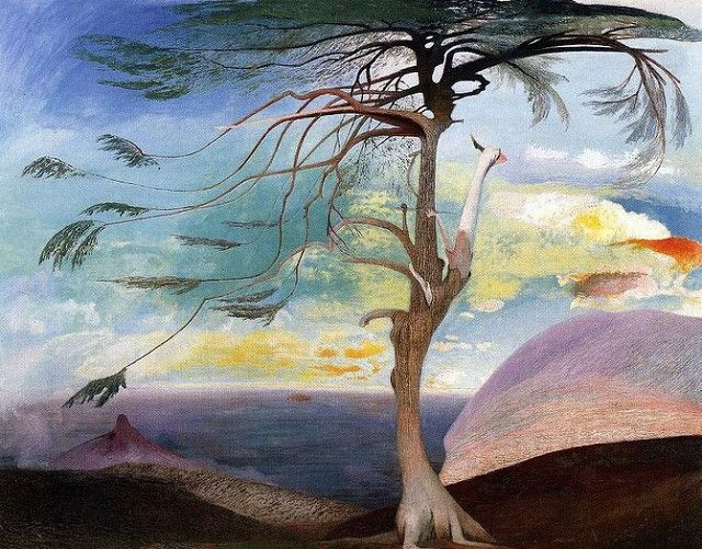 Kosztka, Tivadar Csontvary  - 1907 -  The Solitary Cedar