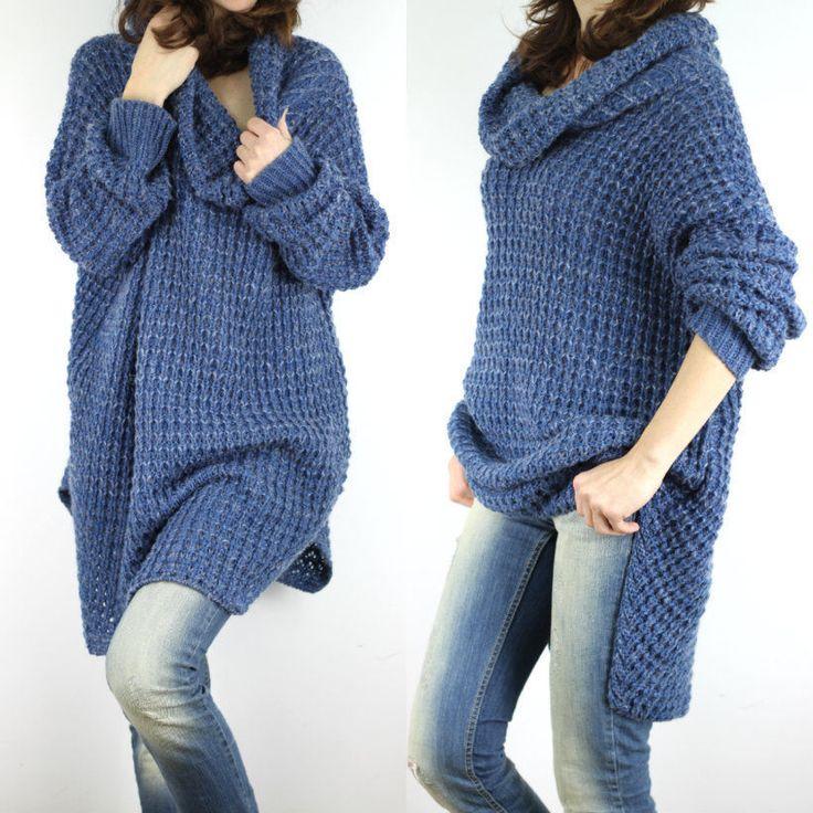 Wunderbar überdimensionale Häkeln Pullover Muster Ideen - Schal ...