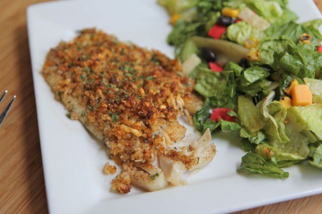 baked+parmesan+tilapia+recipe I'm almost certain the kiddos will try this. Need to add fish in the rotation.