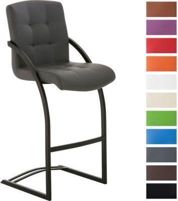 Design Barhocker DAKOTA, Freischwinger-Stuhl mit Armlehne, Sitzhöhe 77 cm, Kunstleder-Bezug Jetzt bestellen unter: https://moebel.ladendirekt.de/kueche-und-esszimmer/stuehle-und-hocker/freischwinger/?uid=f294fea9-958a-5ffc-a6c4-03b1f5ffcc3b&utm_source=pinterest&utm_medium=pin&utm_campaign=boards #freischwinger #kueche #stehtische #esszimmer #hocker #stuehle