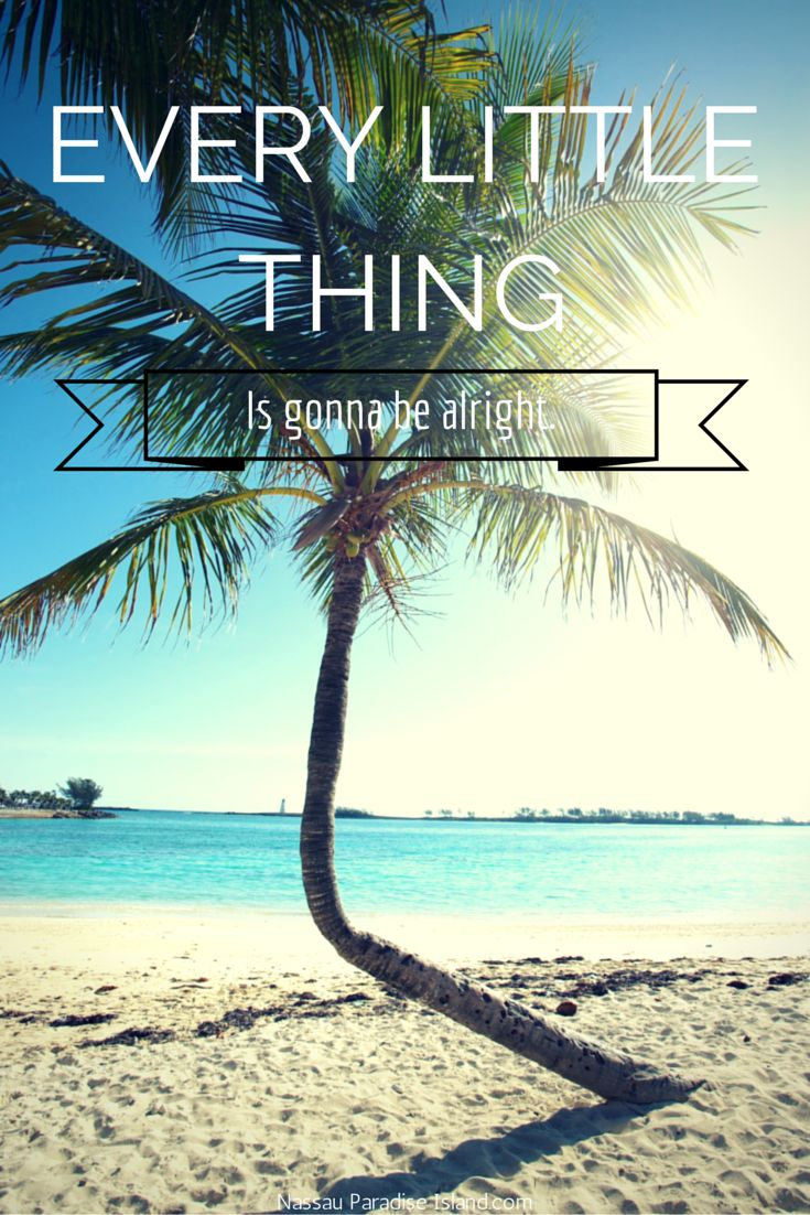 It's all going to be alright. #beach #vacation #quote