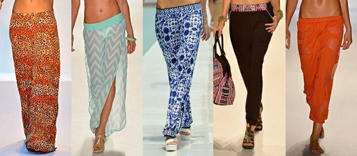 Women Beach Pants Fashion Trend 2014