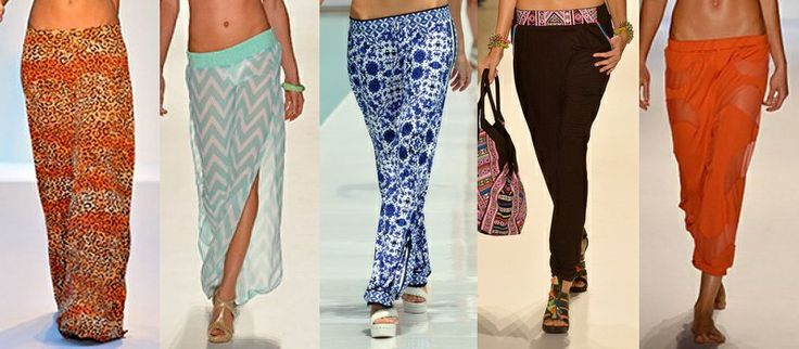 Women Beach Pants Fashion Trend 2014