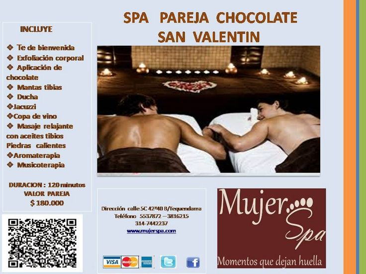 Mujer Spa: SPA  PAREJA CHOCOLATE