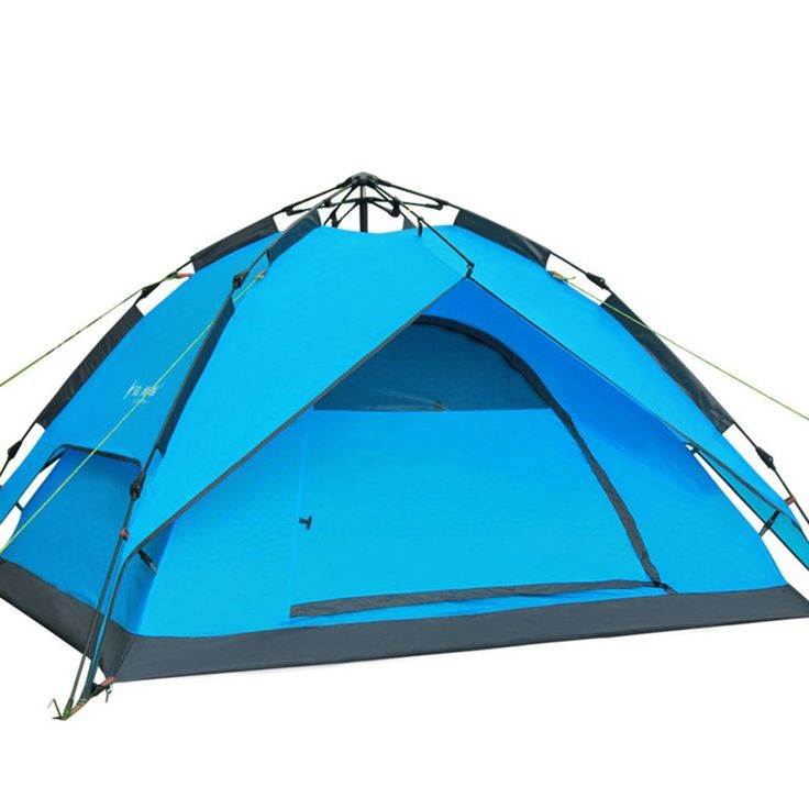 Outdoor C&ing Hydraulic Pressure Tent Rain Proof Double Layers Tent Blue u003eu003e To view further  sc 1 st  Pinterest : best hiking tent - memphite.com