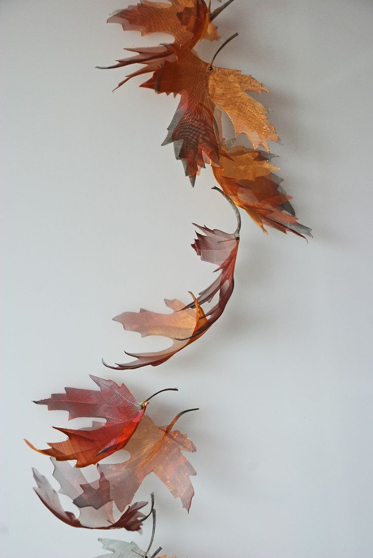 michelle mckinney: Original artworks hand cut from ultra fine woven metal. Inspired by elements of nature.