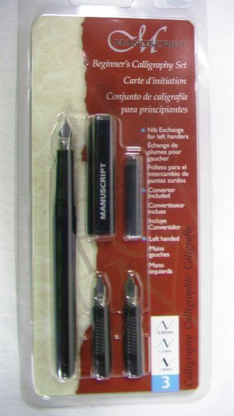 Beginner Calligraphy Set For Left Hander's | Love Your Lefty