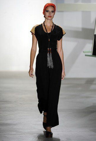 New York fashion week  jani gabriel