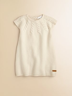 Burberry - Infant's Yoked Cable-Knit Dress - Saks.com. Is there any bigger size?This would be great for my winter top