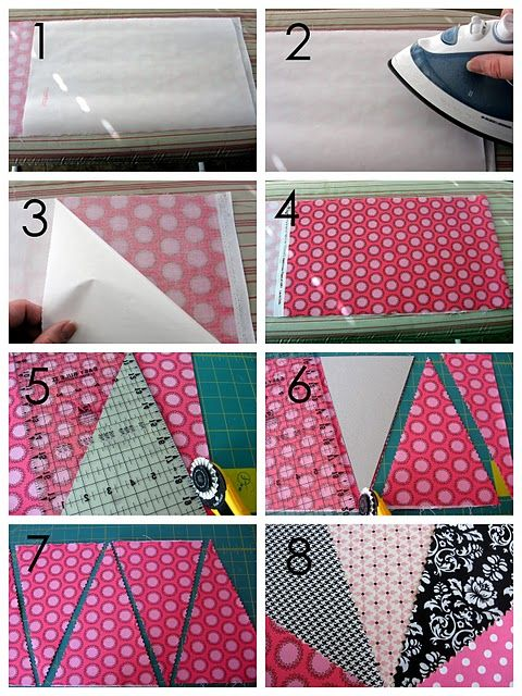 {14 Days of Sweet Valentine's Day Ideas} Adorable Fabric Bunting Tutorial! - The TomKat Studio