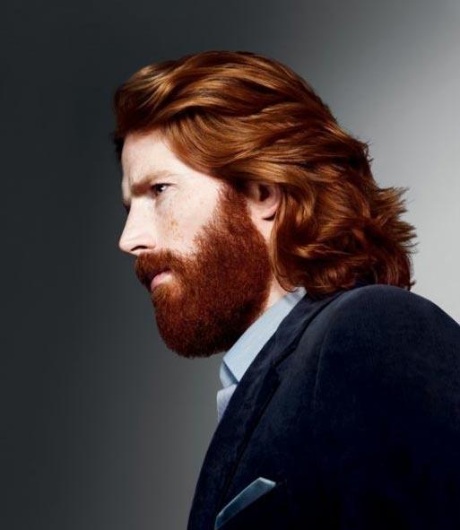 http://www.capelli-uomo.it Hair: System Professional    Clavelina 29 via Frances Simmerano Duke onto Personas pelirrojas y pecosas