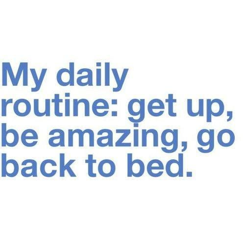 perfect daily routine