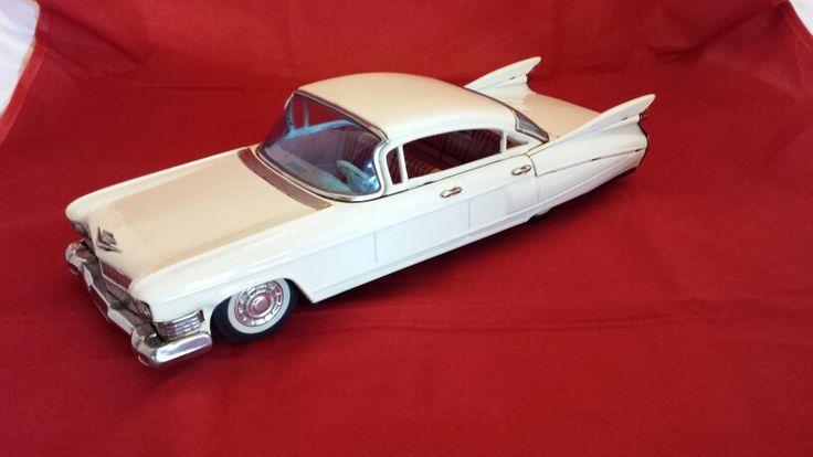 1959 Tin Toy Cadillac made by Bandai of Japan circa 1960's
