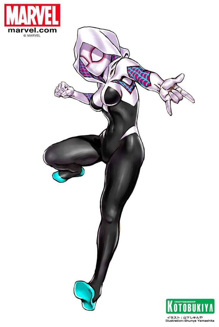 Phrrmp's Phantasies — bear1na: Spider-Gwen by Shunya Yamashita |...
