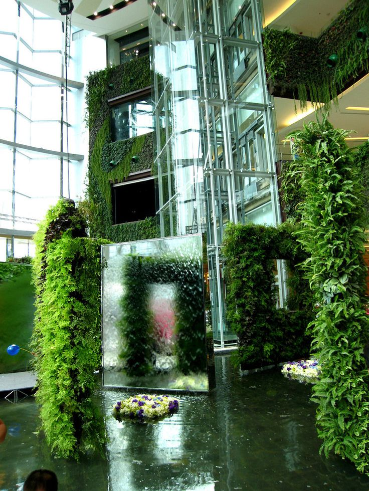 Siam Paragon Shopping Mall Vertical Garden Patrick Blanc