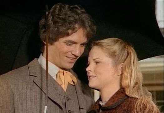Mary Ingalls (Melissa Sue Anderson) and Adam Kendall (Linwood Boomer)