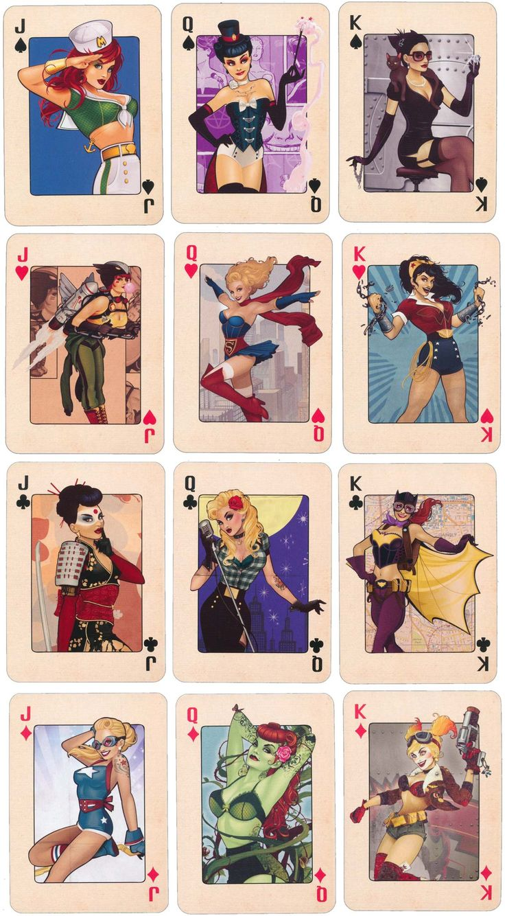 Glamorous female stars of DC Comics published by 'Forbidden Planet', 2015. ™ & © DC Comics