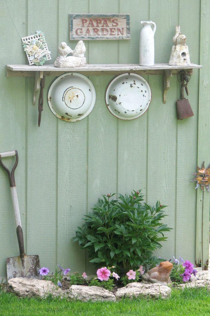 36 best Shabby Chic Summerhouse Garden Room images on Pinterest ...