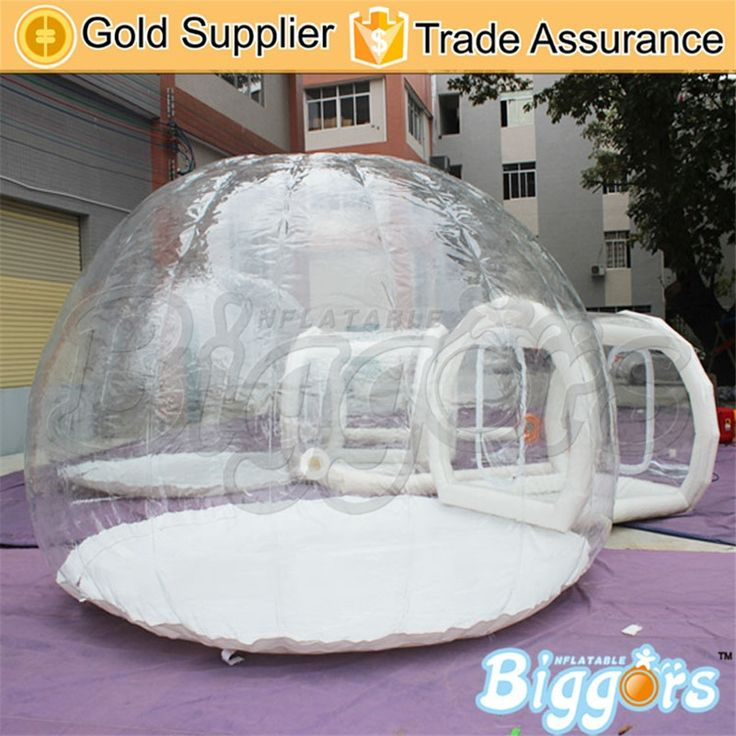 1458.00$  Buy here - http://ali204.worldwells.pw/go.php?t=32787504287 - Free Sea Shipping Durable Inflatable Clear Bubble Transparent Camping Tent For Sale 1458.00$