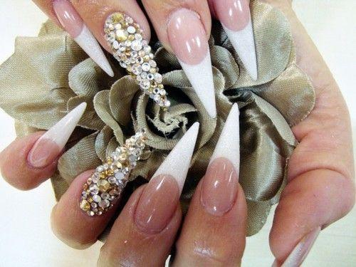 35 Best Diamond Nail Art Ideas 2014 | Nail Design Ideaz - Best 25+ Diamond Nail Art Ideas On Pinterest Diamond Nail