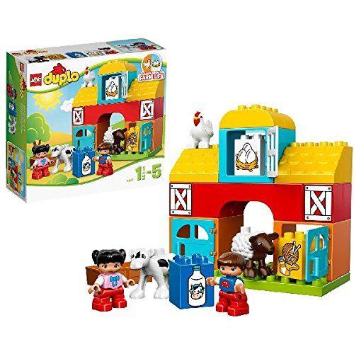 LEGO DUPLO 10617: My First Farm LEGO https://www.amazon.co.uk/dp/B00NVDKQ02/ref=cm_sw_r_pi_dp_x_3lZ7zbW0JG99F