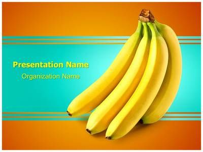 81 best food and beverage powerpoint templates images on pinterest bananas fruit powerpoint presentation template is one of the best medical toneelgroepblik Images