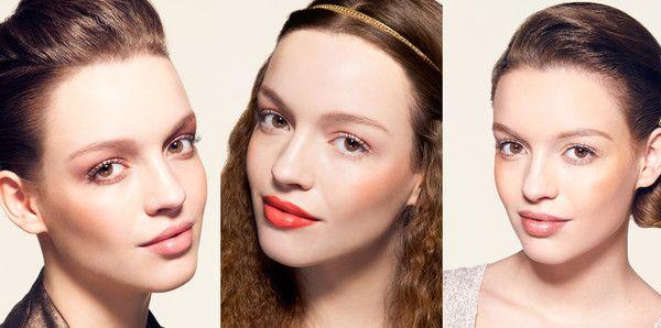 Une touche d'or dans mon make-up - Femme Actuelle