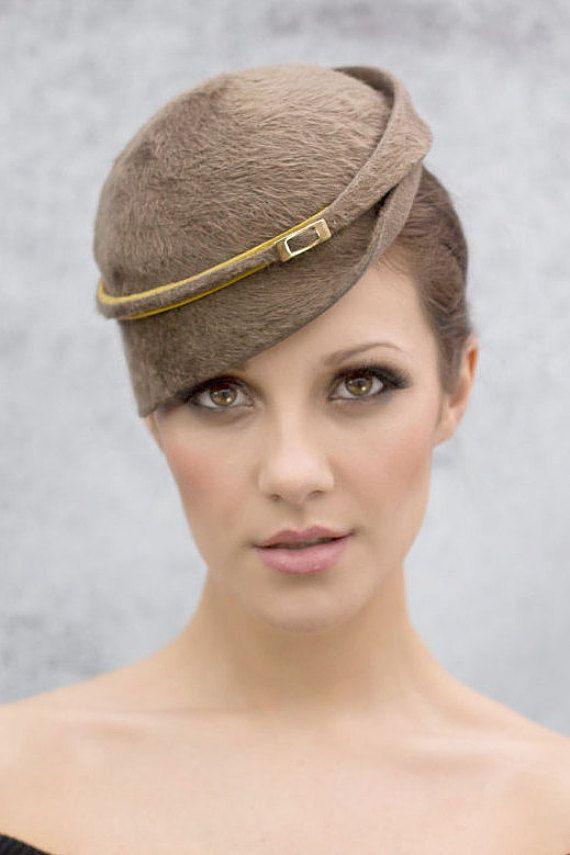 Mini Hut, moderne Womens Fashion Millinery, Retro-Stil-Hut, Stil 40er Barsch Hut, Fascinator Hut - Milli
