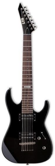 The LTD M-17 boasts a 7 string body construction at an amazing price! Features - ESP Designed LH-107 Pickups - Chrome Hardware - Maple Neck - LTD Tuners Technical Specs - Neck: Bolt-On Construction -