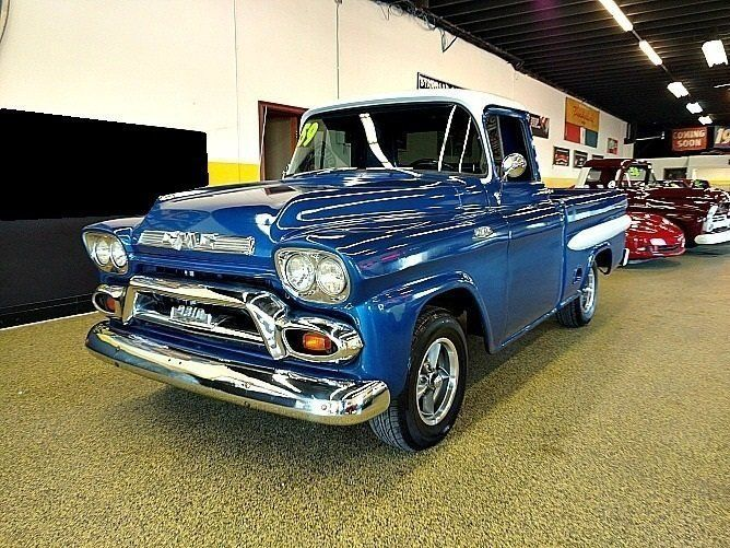 1959 Gmc Pickup Shortbox For Sale All Collector Cars With Images Gmc For Sale Gmc Pickup Gmc