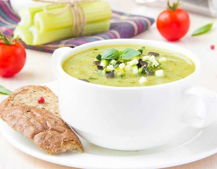 This raw soup is extremely nutritious but is a little hard to swallow. The taste is distinct because it is specifically made for RAW foodies. MAKING 1. In...