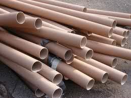 USES FOR CARDBOARD TUBES- cut in pieces and fill with soil to start seeds
