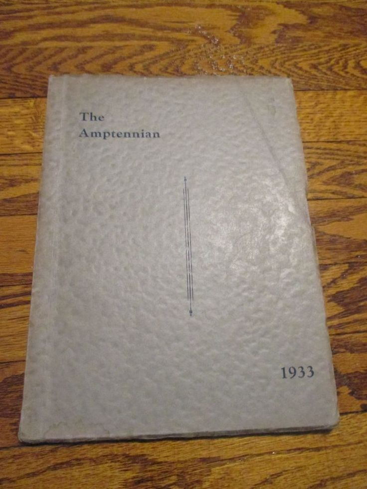 1933 The Amptennian Northampton High School Yearbook PA Pennsylvania Photos