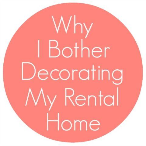 Decorating a Rental Home   makinghomebase.com