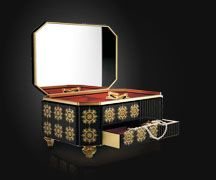 Filigree Jewelry Case, High End, High Class