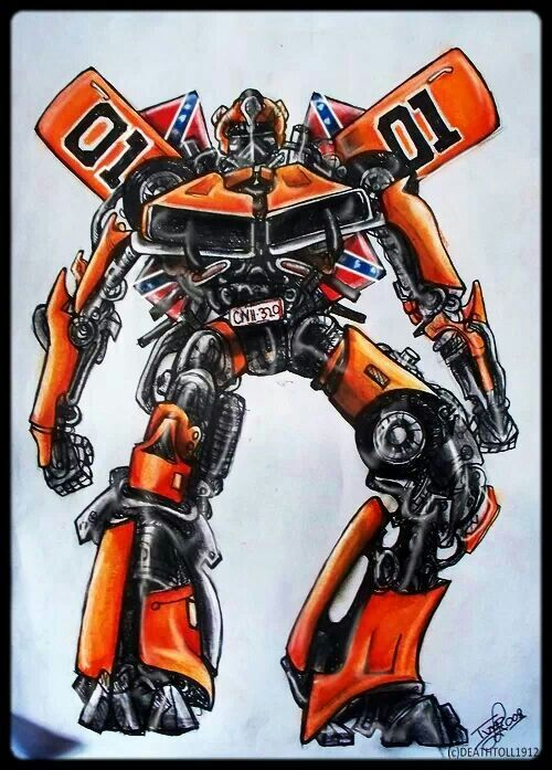 General Lee Transformer... cool.